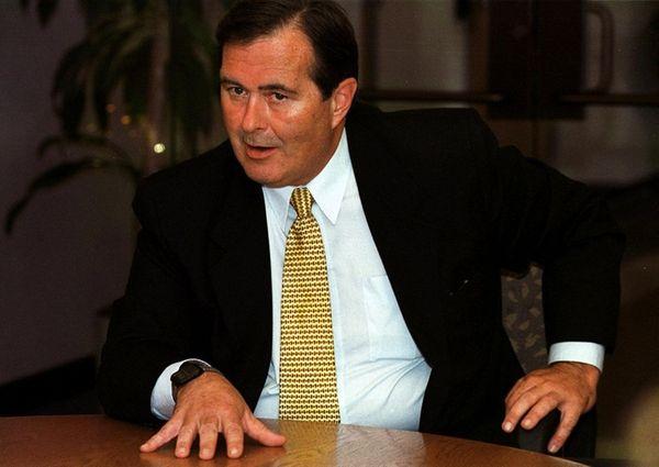 Journalist Dan Lynch, above in 2000, spent most