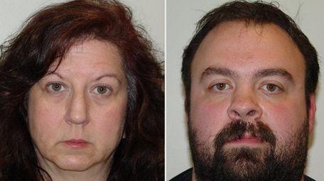 Linda Minervini, 53, and Thomas Cacaci Jr.,