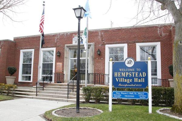 Hempstead Village Hall is seen on Thursday, Feb.