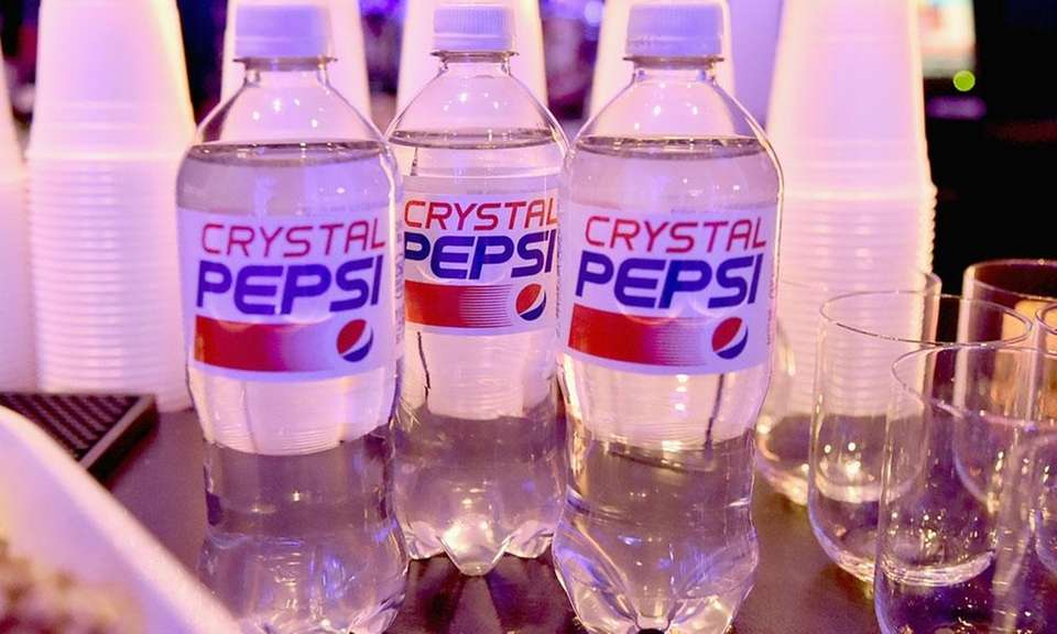 In 1992, Pepsi introduced a clear cola, Crystal