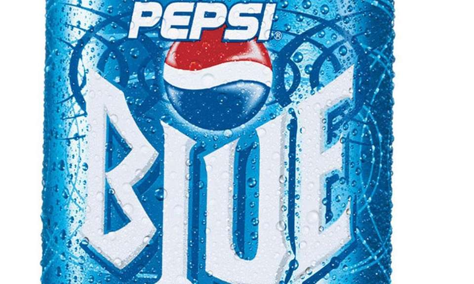 Pepsi introduced Pepsi Blue in 2002, which was