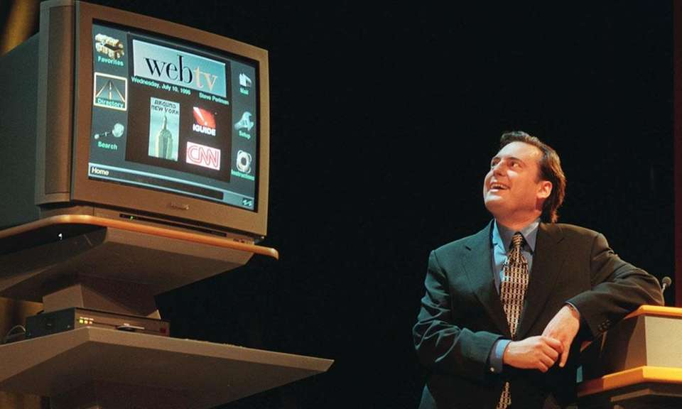 WebTV was introduced in 1996 and would allow