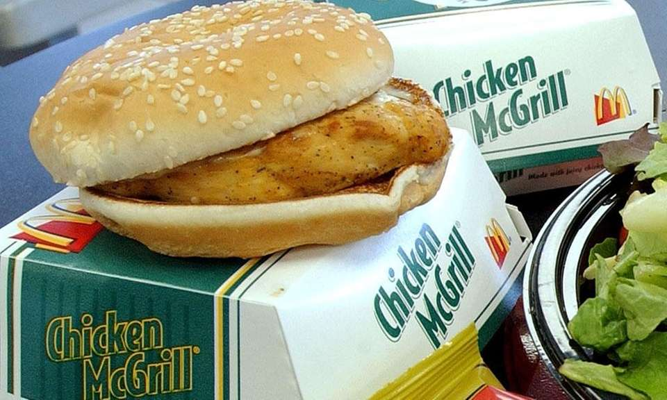 The Chicken McGrill was introduced in 1999 after