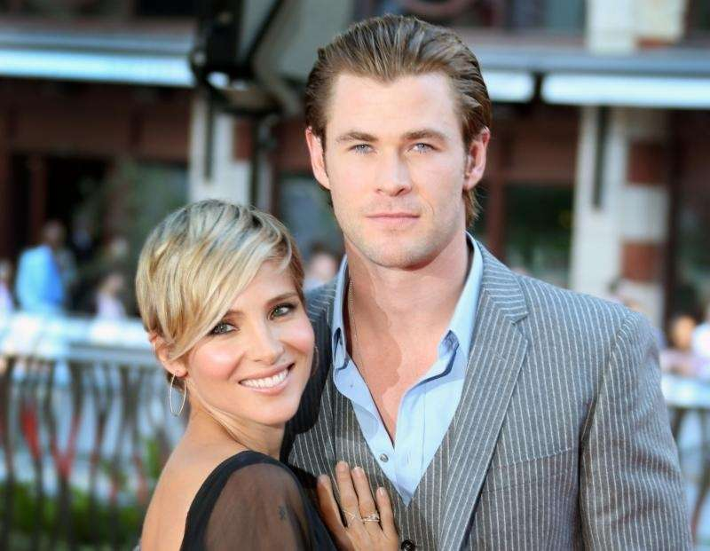 Chris Hemsworth and Elsa Pataky are parents to