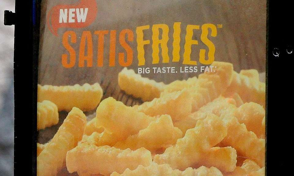 Satisfries were introduced in 2013 with 40 percent
