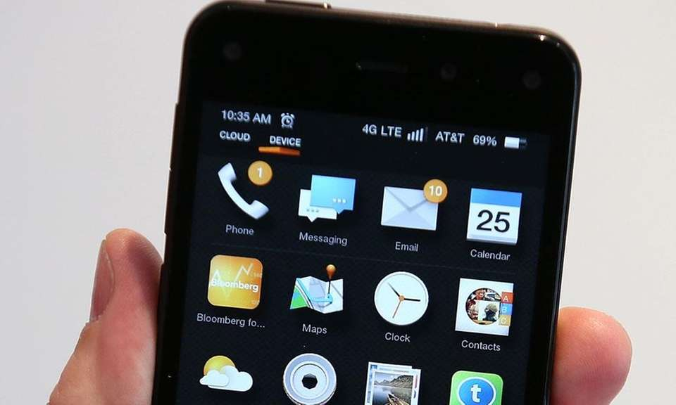 The Amazon Fire phone was introduced in 2014,