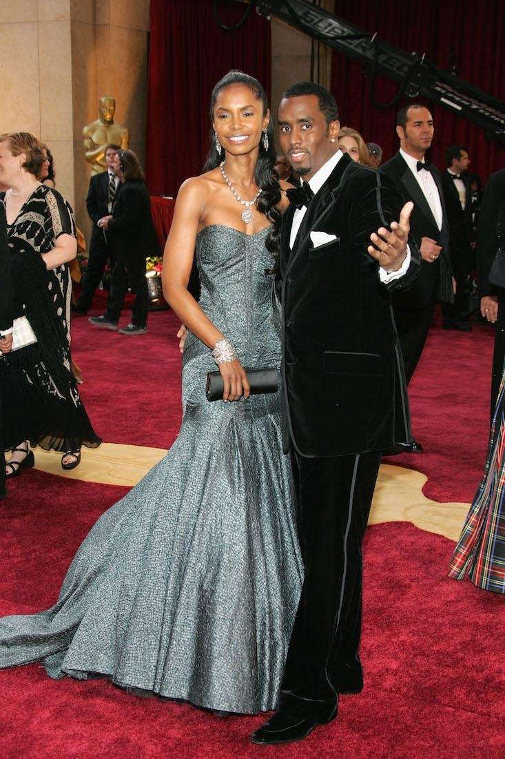 Sean ''Diddy'' Combs and ex-girlfriend Kim Porter have