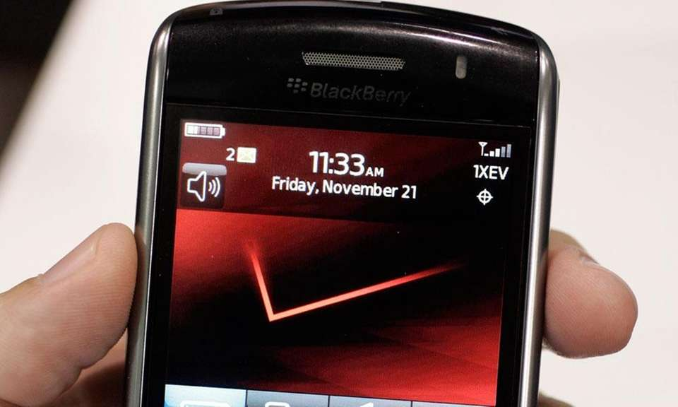 With the initial success of the iPhone, BlackBerry