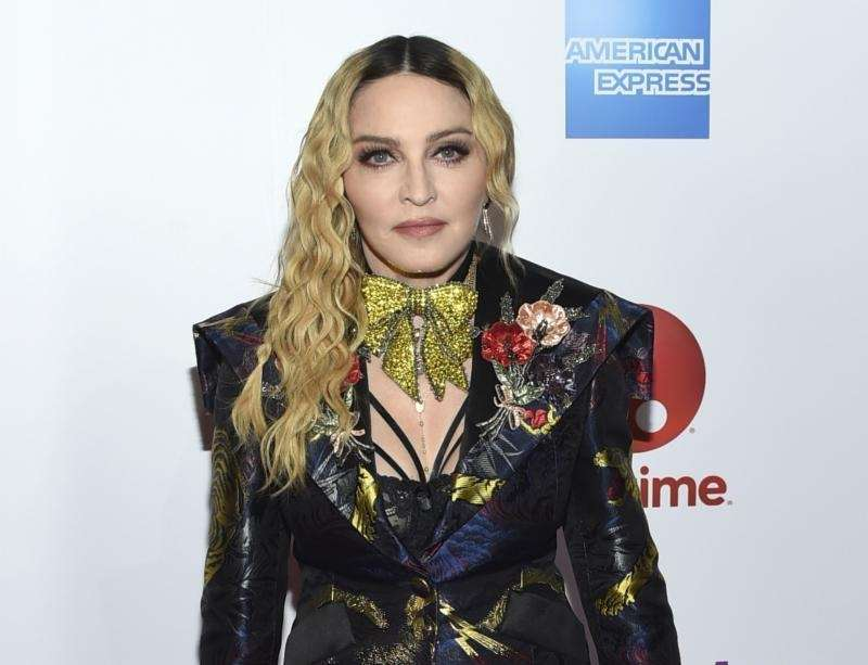 Madonna is mother to twins named Esther and