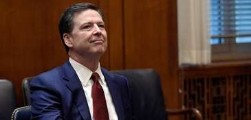 Former FBI Director James Comey is scheduled to