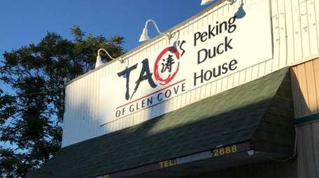 At Tao's Peking Duck House in Glen Cove,