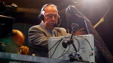 Red Sox broadcaster Jerry Remy is seen is