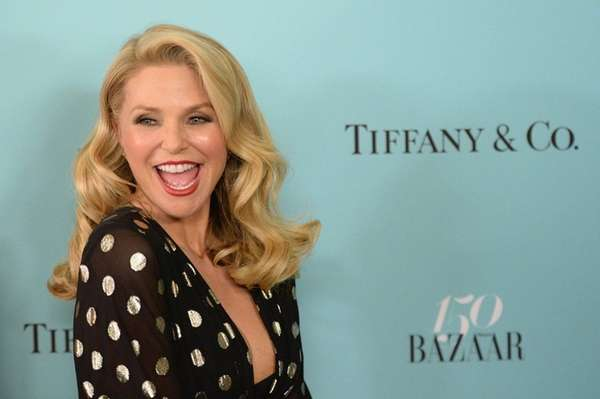 Supermodel Christie Brinkley wears a bikini in to