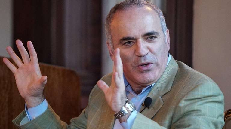 Garry Kasparov, former world chess champion and an