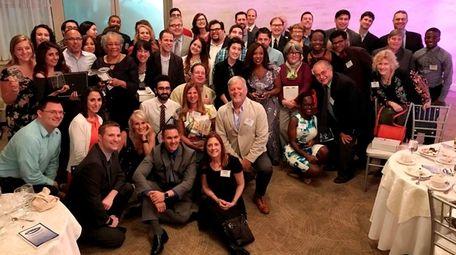 Newsday staff at the 2017 Long Island Press