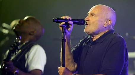 Phil Collins, seen here on Aug. 29, 2016,