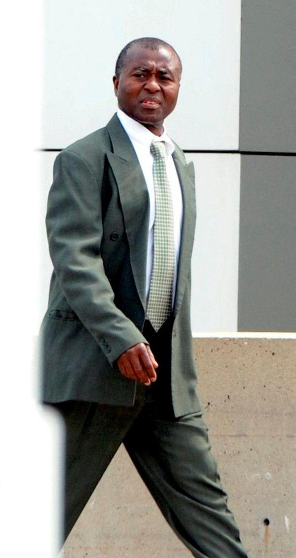 Valley Stream podiatrist Stephen Owusu arrives at federal