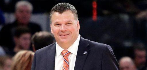Creighton head coach Greg McDermott reacts during the