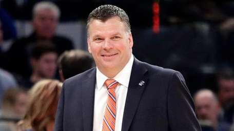 Creighton head coach Greg McDermott reacts during the