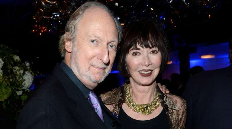 Literary agent Ed Victor with his wife, Carol,