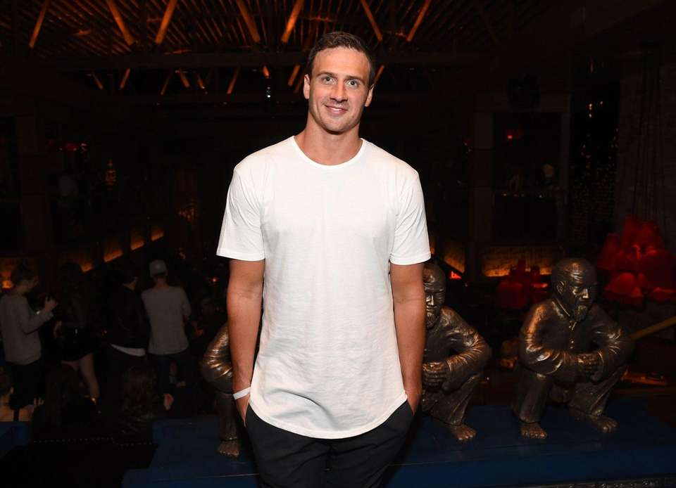 Disgraced Olympics swimming champion Ryan Lochte and his