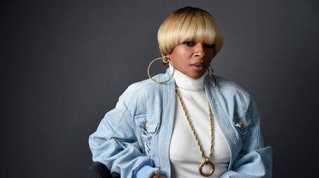 Singer Mary J. Blige, seen here on April