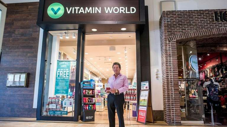 Vitamin World CEO Michael Madden, seen at the