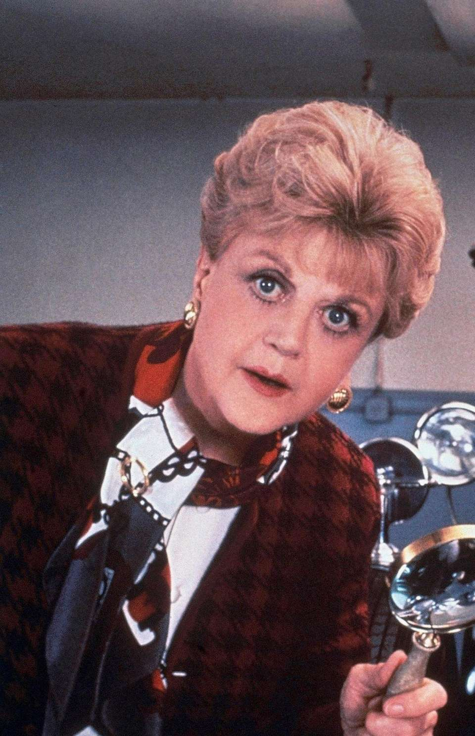 "Angela Lansbury, actress of ""Murder She Wrote"" in"