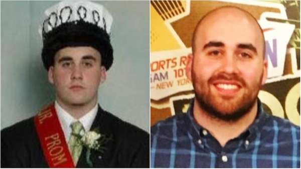 Newfield High School junior prom king Phil Forte,