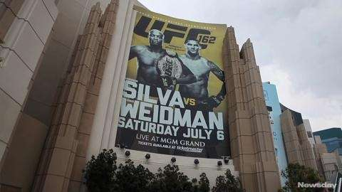 Watch Baldwin native Chris Weidman as he prepares