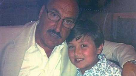 Kidsday reporter Danny Greene with his grandfather Dominic