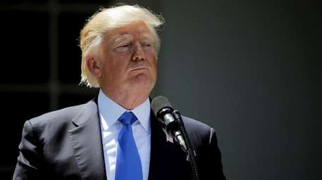 President Donald Trump said on Friday, June 9,