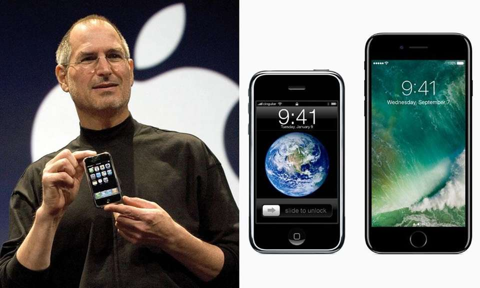 Steve Jobs first announced the iPhone on January