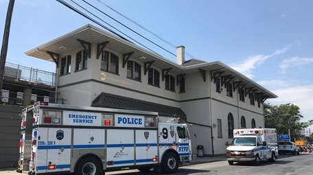 Emergency personnel respond to the Queens Village Long