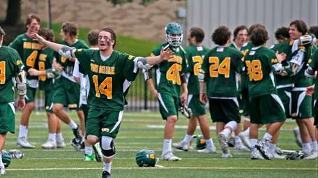 Ward Melville's Dylan Krieg can't believe the Patriots'