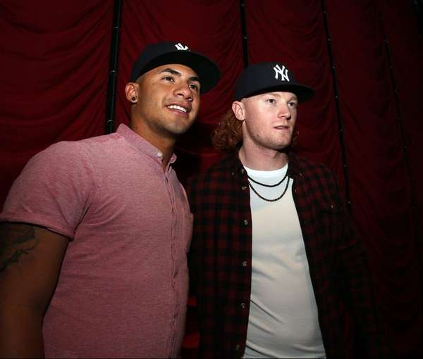 Yankees prospects Gleyber Torres and Clint Frazier at