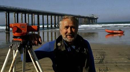 Jim Stewart, diving officer at Scripps Institution of