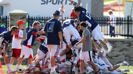 Cold Spring Harbor celebrates Class C Championship at