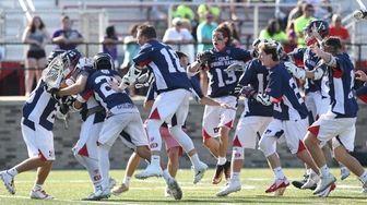 Cold Spring Harbor celebrates Class C Championship at