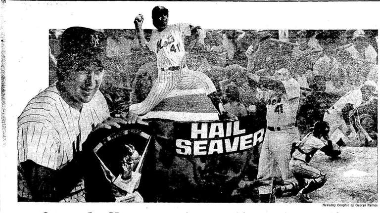 This graphic appeared with Bob Waters' Tom Seaver