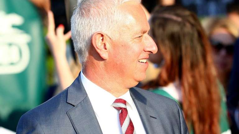 ELMONT, NY - JUNE 10: Trainer Todd Pletcher