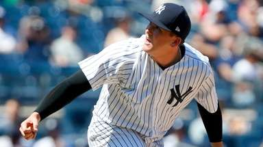 Jonathan Holder #65 of the New York Yankees