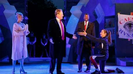 The Shakespeare in the Park production of