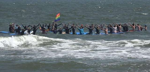 The Long Island Pride celebration, which featuredover 30
