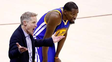 Steve Kerr of the Golden State Warriors and