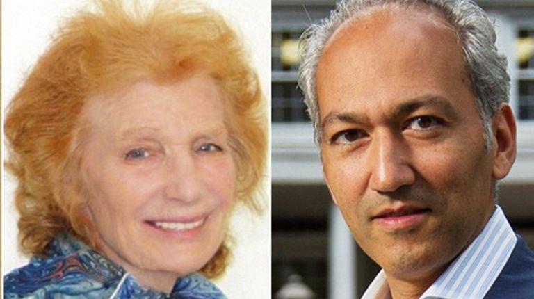 Rebecca Rosenblatt Gilliar, left, is challenging Mayor Pedram