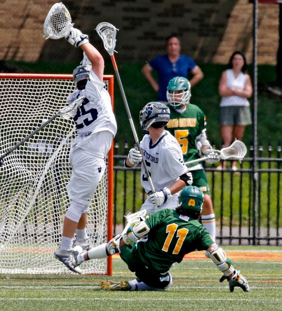 Ward Melville's Matthew Grillo shoots the over-time winning