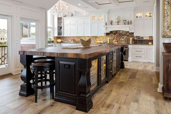 Kitchen designer Michael Rosenberg, a partner in the