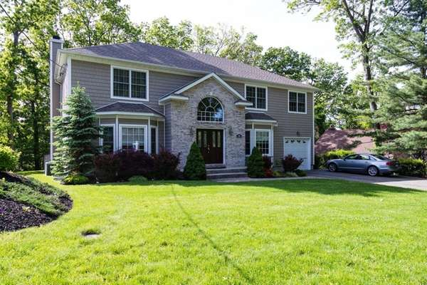This four-bedroom, 2½-bath Colonial is on the market