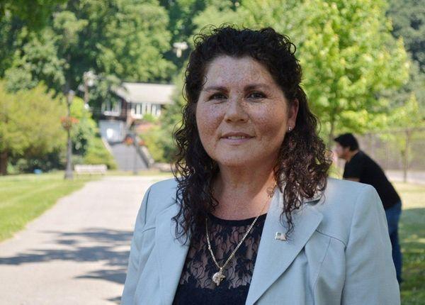Marcela De La Fuente after she formally announced